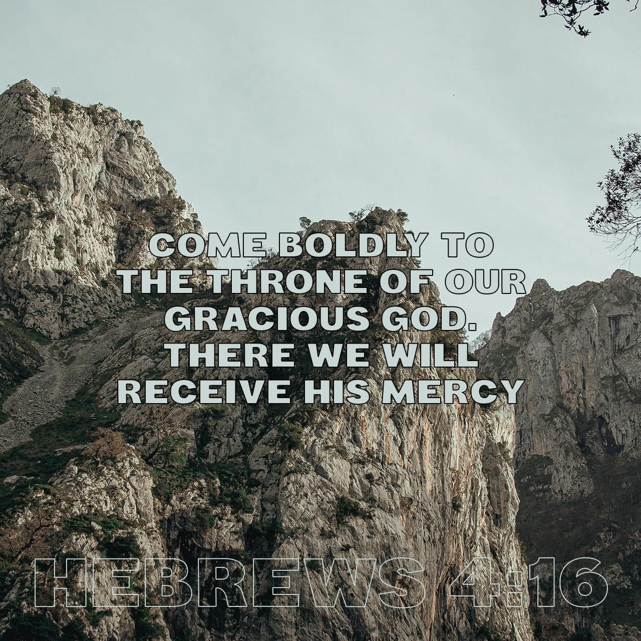 Verse image for Nick Vogel's How to Approach God Boldly Devotional on Hebrews 4:16